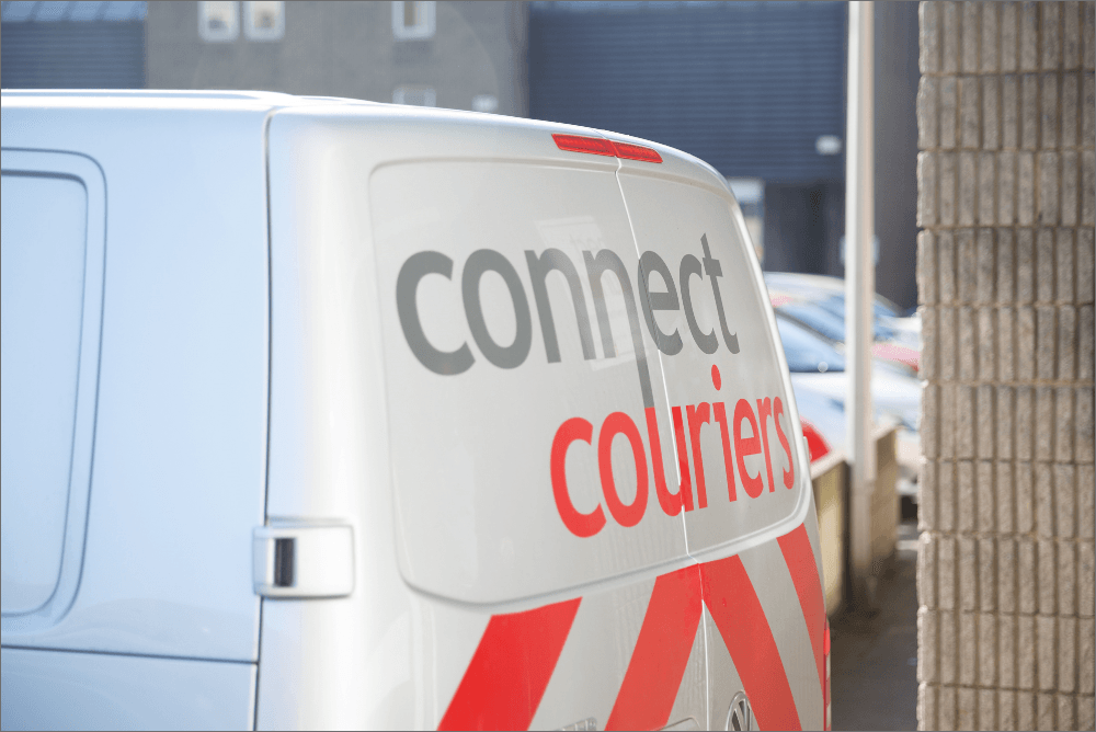 Connect Couriers Delivery Van